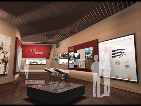 Exhibition hall design and construction integration